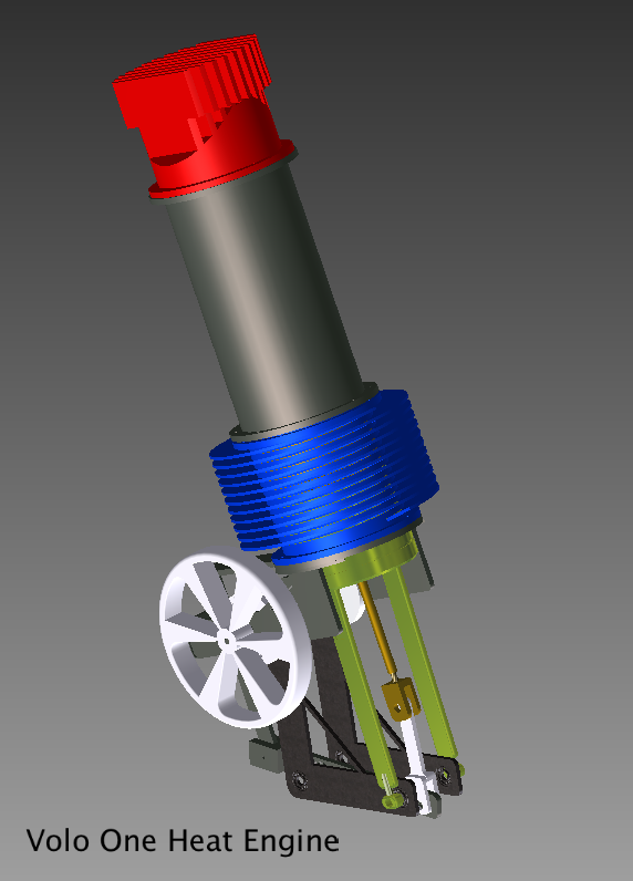 Volo Stirling Engine