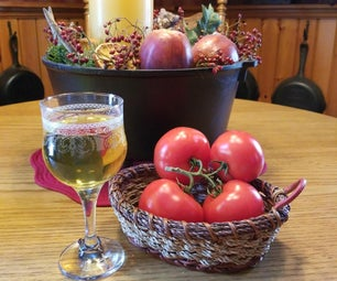 Tomato Wine (from Soup Production Waste)