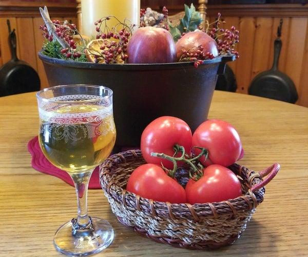 番茄葡萄酒(来自汤生产废物)