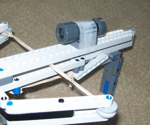 How to Make a Lego Cross Bow