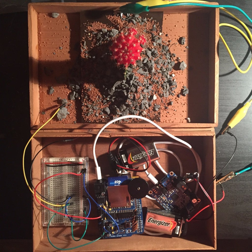 Soft-Circuit Speaker + Solder + Test