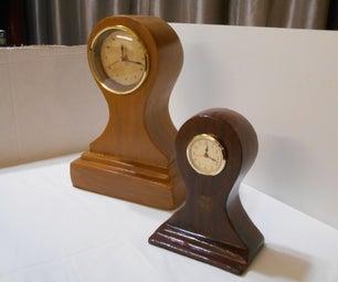 Faux Antique Mantle Clock