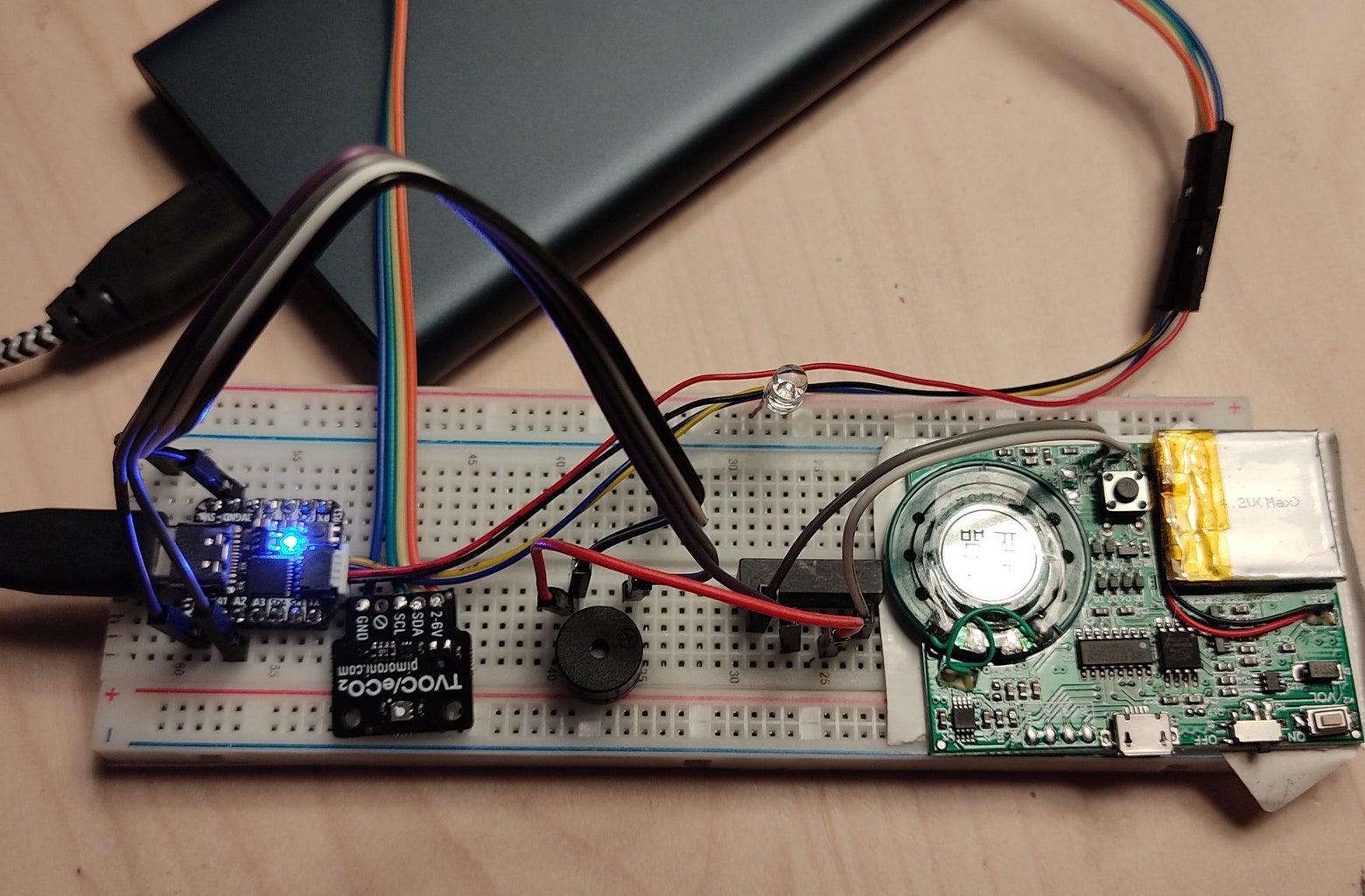 A Flatulence Detector Using the SGP30 Sensor