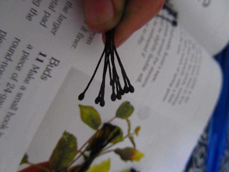 Making Poppies: Stamens