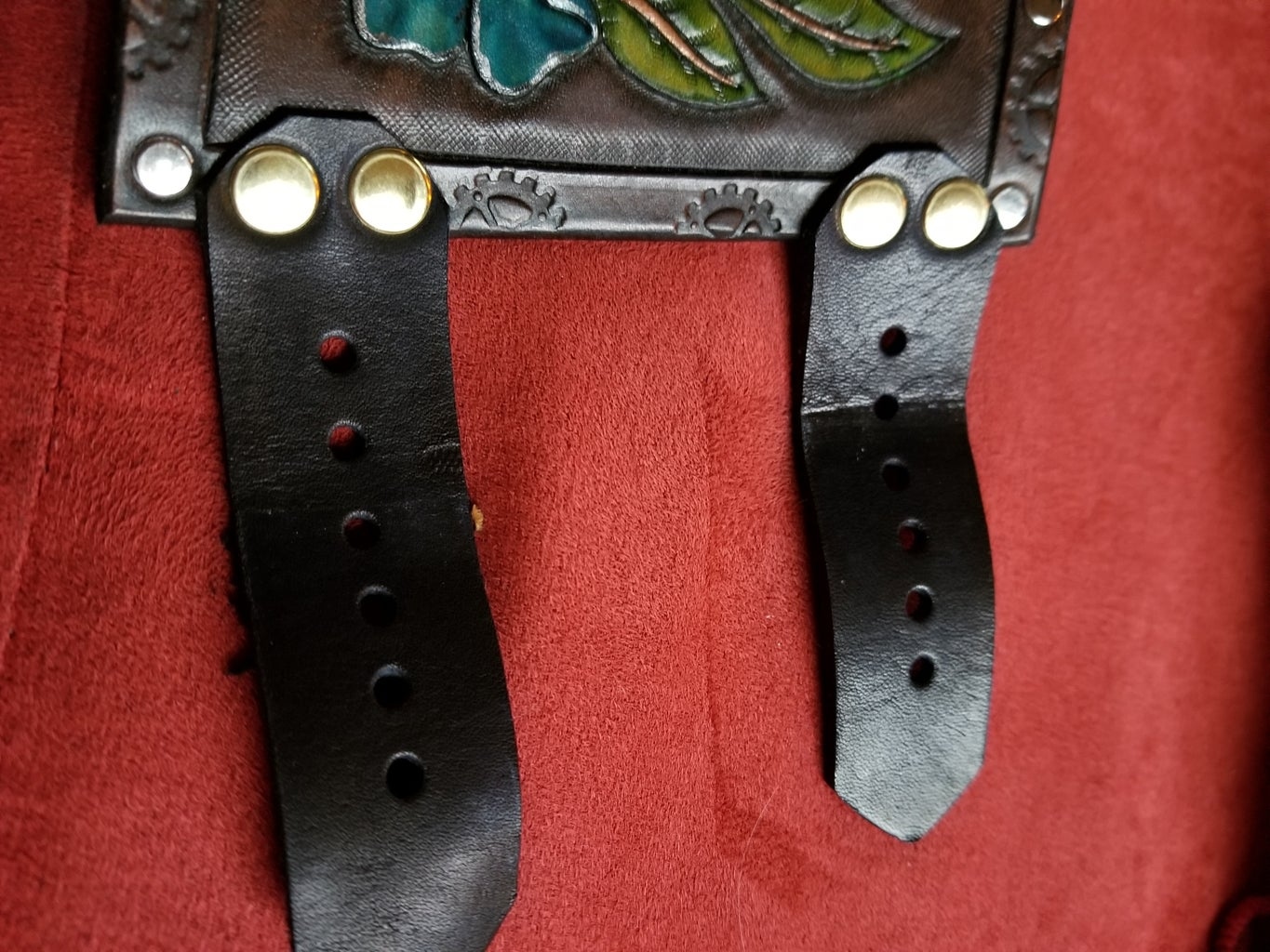 Rivets and Straps and Buckles, Oh My