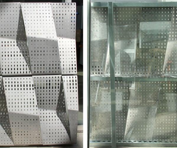 Architecture in the Making: Studio H2O Facade Prototype