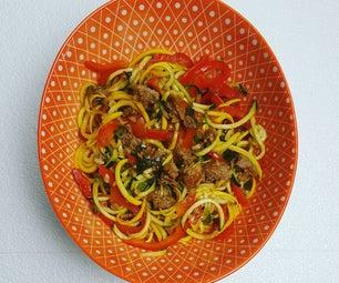 Zucchini Drunken Noodles