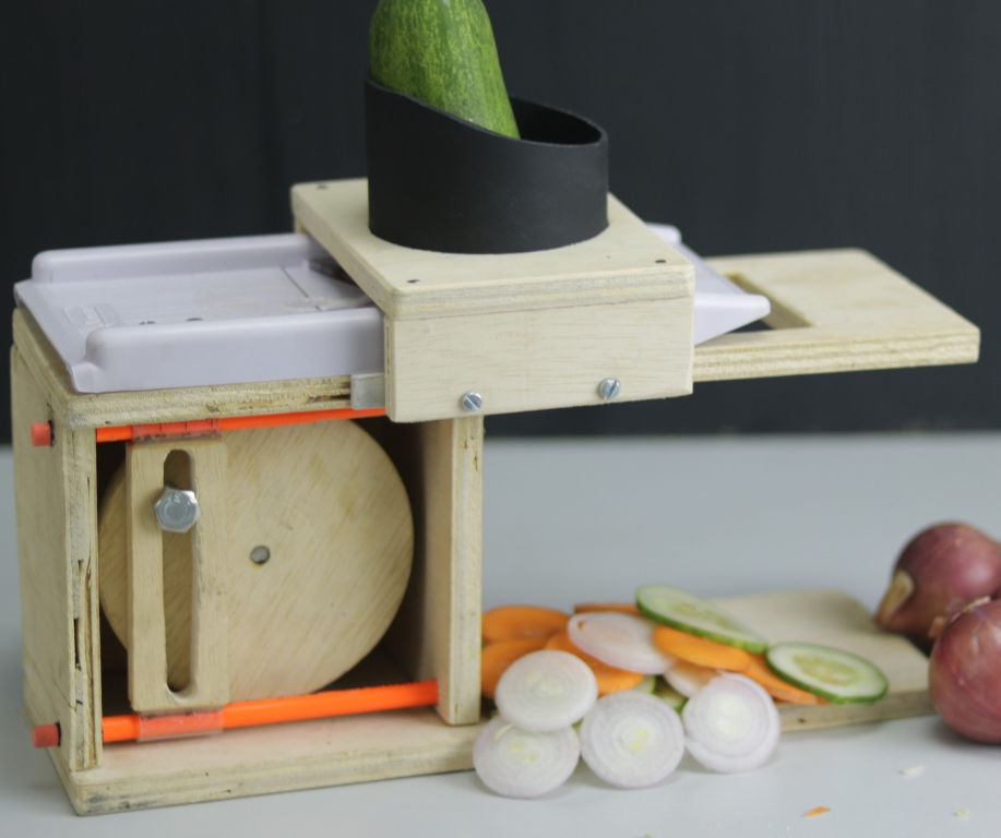 Electric Onion Slicer
