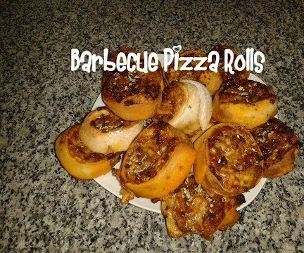 Barbecue Pizza Rolls Recipe