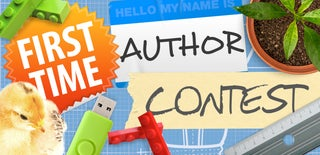 First Time Author Contest