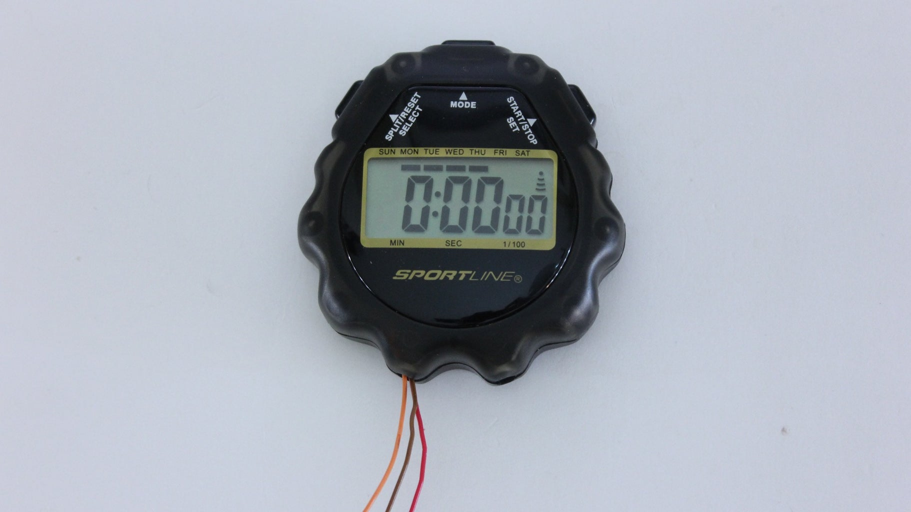 Cut a Slot in the Housing of the Stop Watch for the Extension Wires