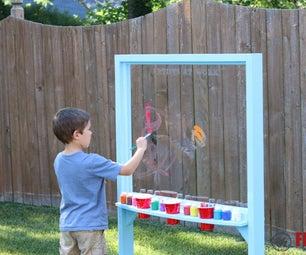 Kids Outdoor Acrylic Easel