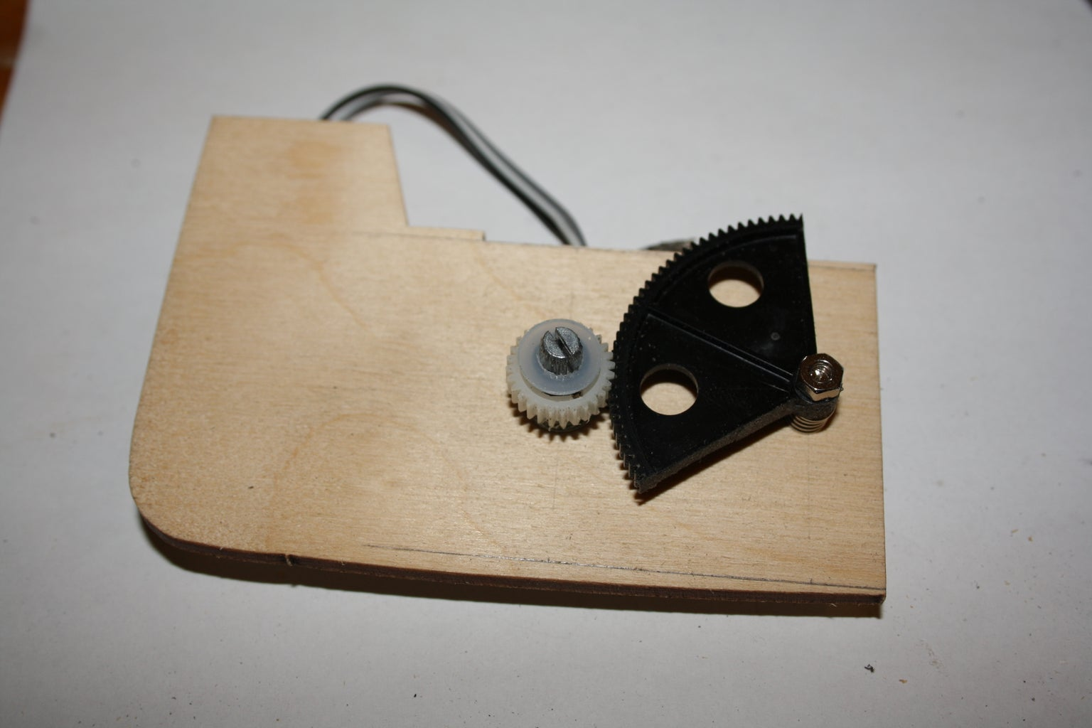 The Foot Pedal | Gearing the Knob.