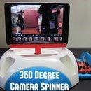Panoramic iPad Camera Spinner