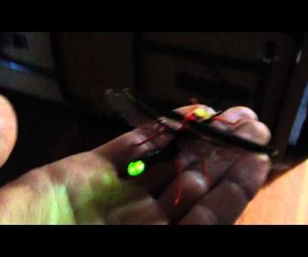 LED Firefly Brooch
