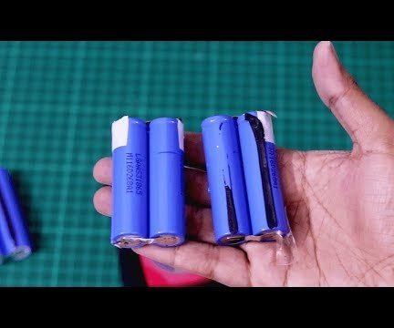 How to Get Free 18650 Lithium Cells From Dead Laptop Batteries