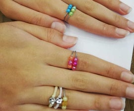 How to Make Stylish DIY 0$ Rings.
