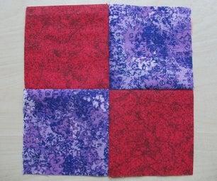 Quilting Basics : 4 Patch Block