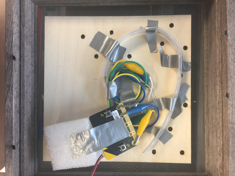 Assembling the Door Sign