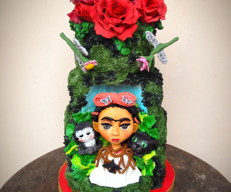Frida Kahlo Inspired Cake