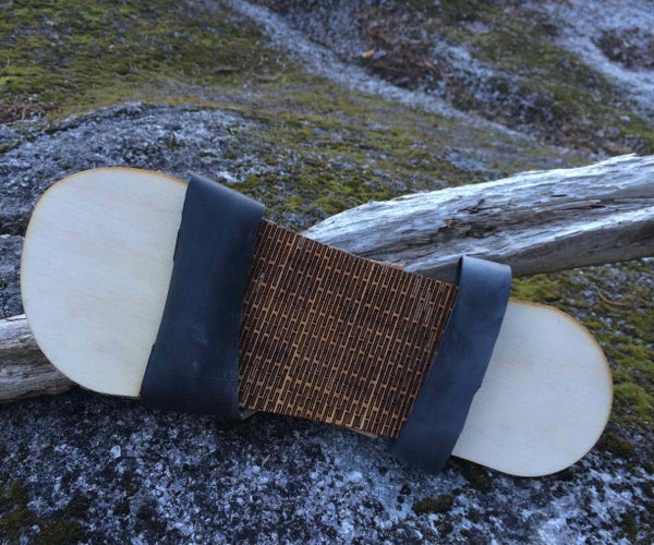 Wooden Eco Sandals