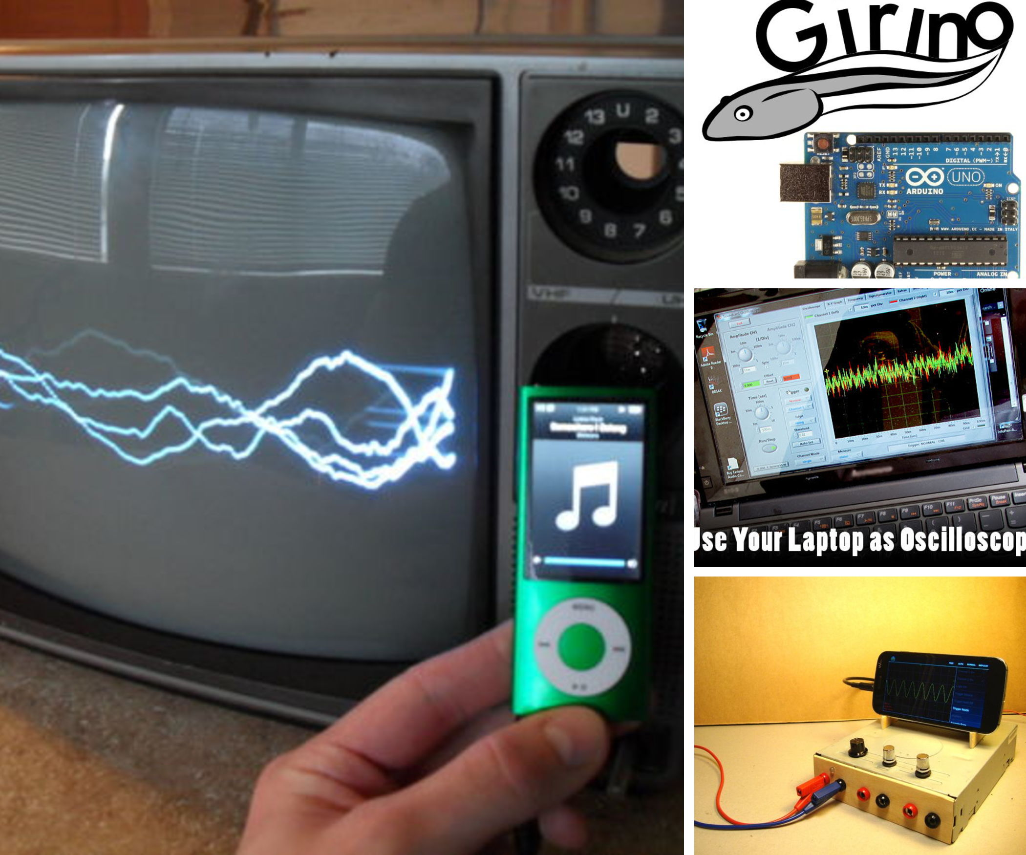 Make Your Own Oscilloscope!