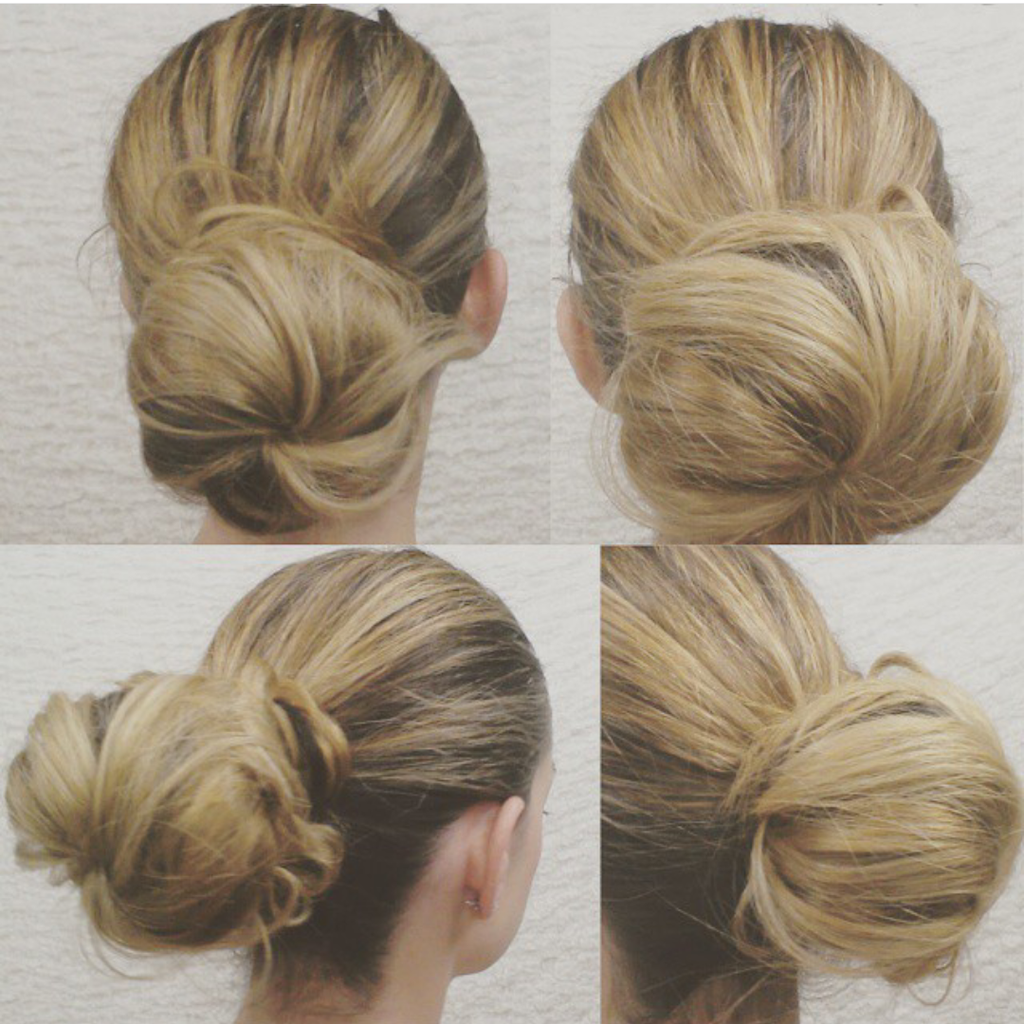How to Create the Perfect 'Messy' Bun!
