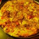 Gold Rush Pizza (Smoked Salmon pizza)
