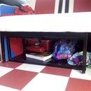 Campervan Under Bed sliding doors