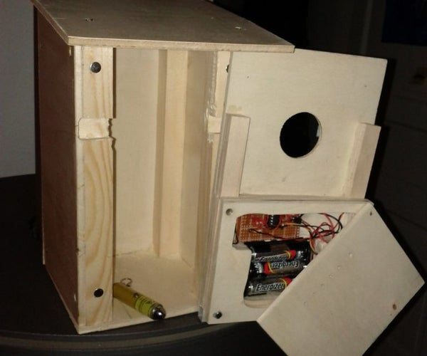 Laser Operated Nest Box Visit Counter