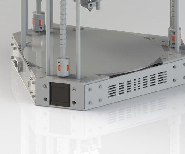 A Delta 3D Printer