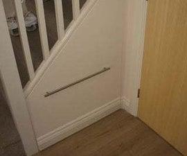 如何在楼梯橱柜下秘密和隐藏。