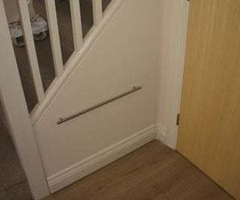 How to Make a Secret and Concealed Under Stairs Cupboard.