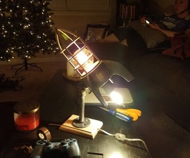 Rocket Lamp - DIY