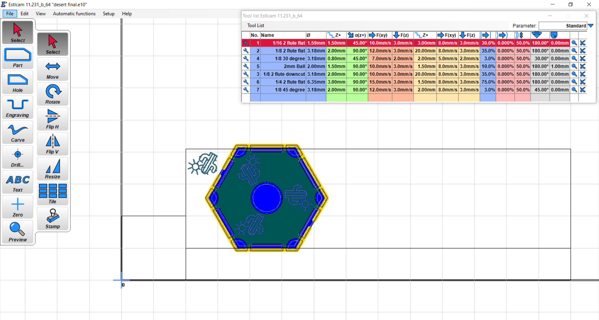 Setting Up the Cam Program to Generate the CNC GCode
