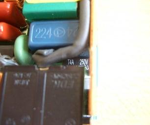 Repairing a IBM Notebook AC-Adaptor