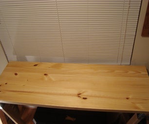 Making an Affordable Saw Horse Desk