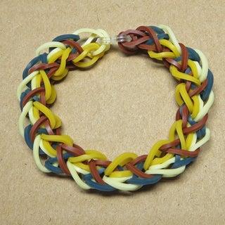 Rainbow Loom Diamond Pattern Bracelet
