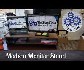 Desktop Monitor Stand and Charging Station