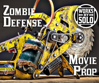 Zombie Apocalypse Defense - Movie Prop