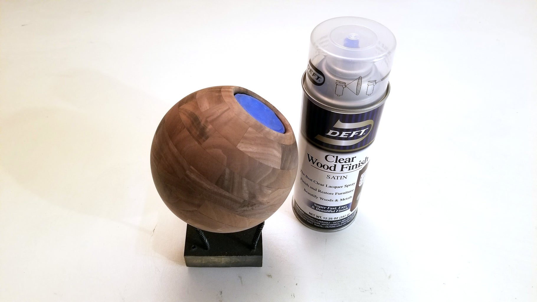 Apply Base Coats of Lacquer