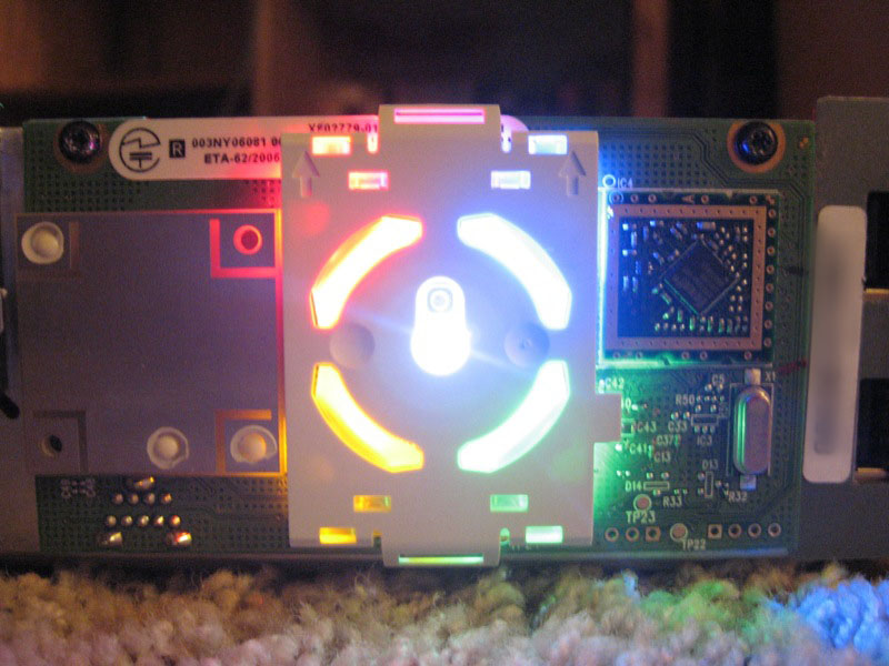 Xbox 360 Ring of Light LEDs