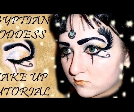Dark Horse Egyptian Goddess Makeup