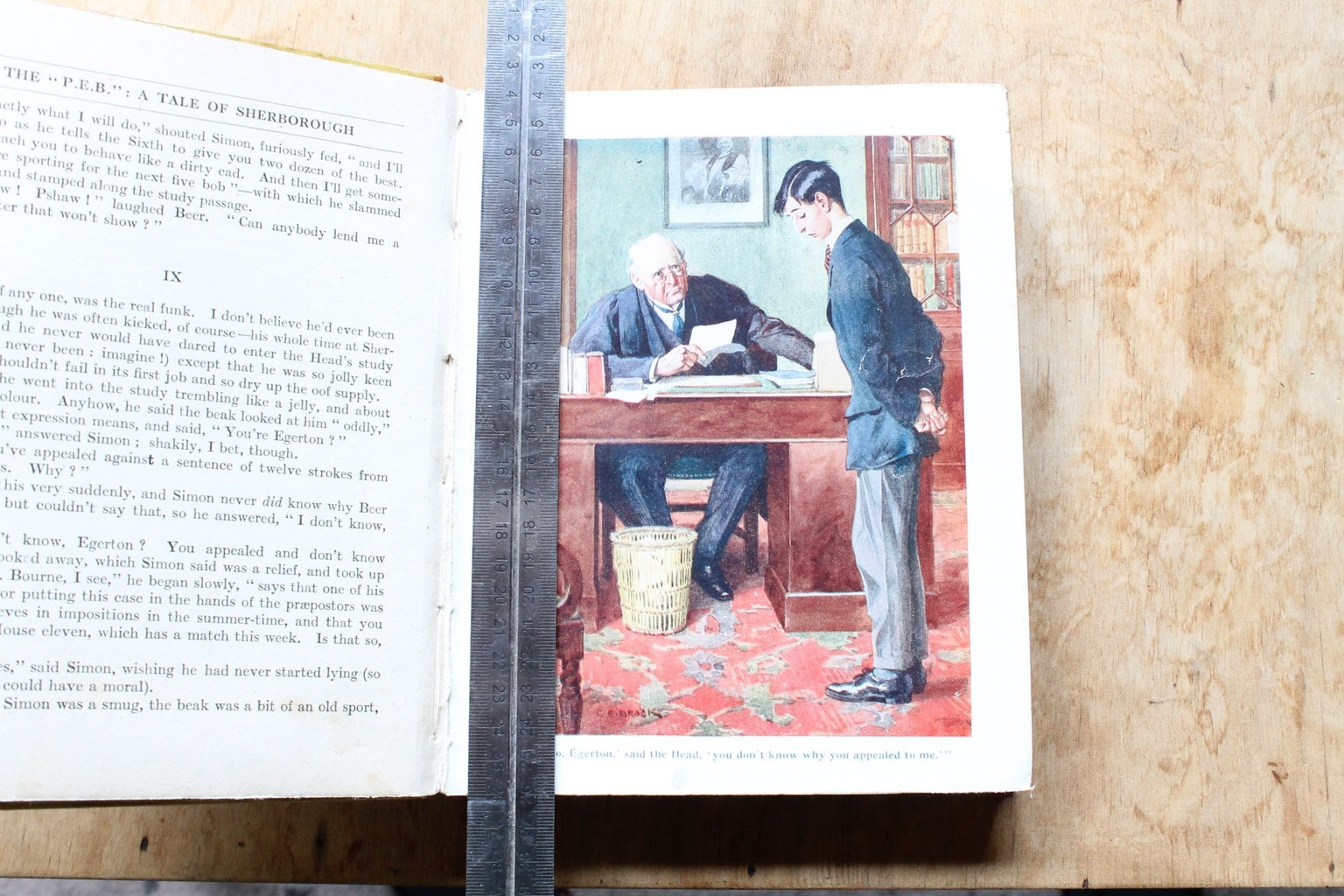 Cutting Out a Compartment in the Book