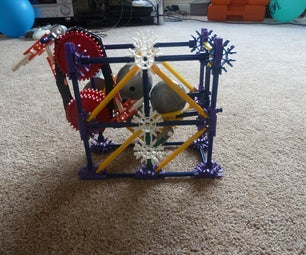 Simplicity - a K'nex Ball Machine Almost Anyone Can Build!