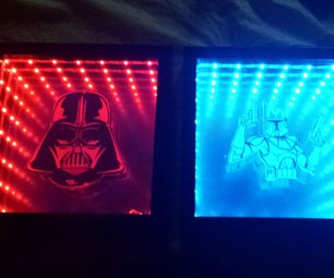 Star Wars USB Powered Infinity Mirror