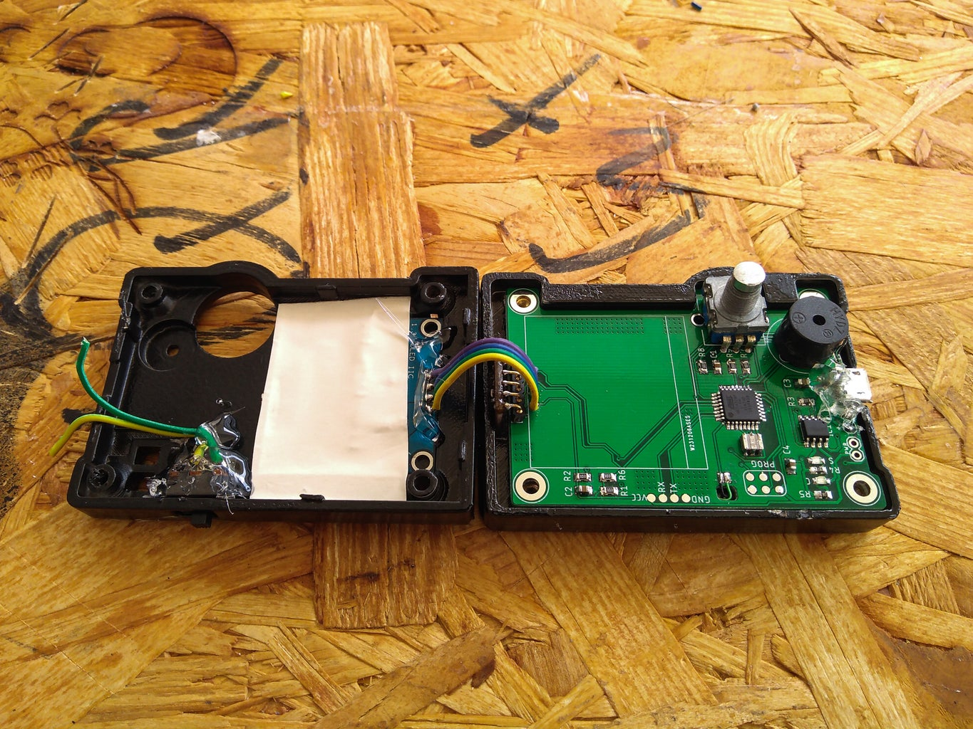Place the Board in Enclosure!