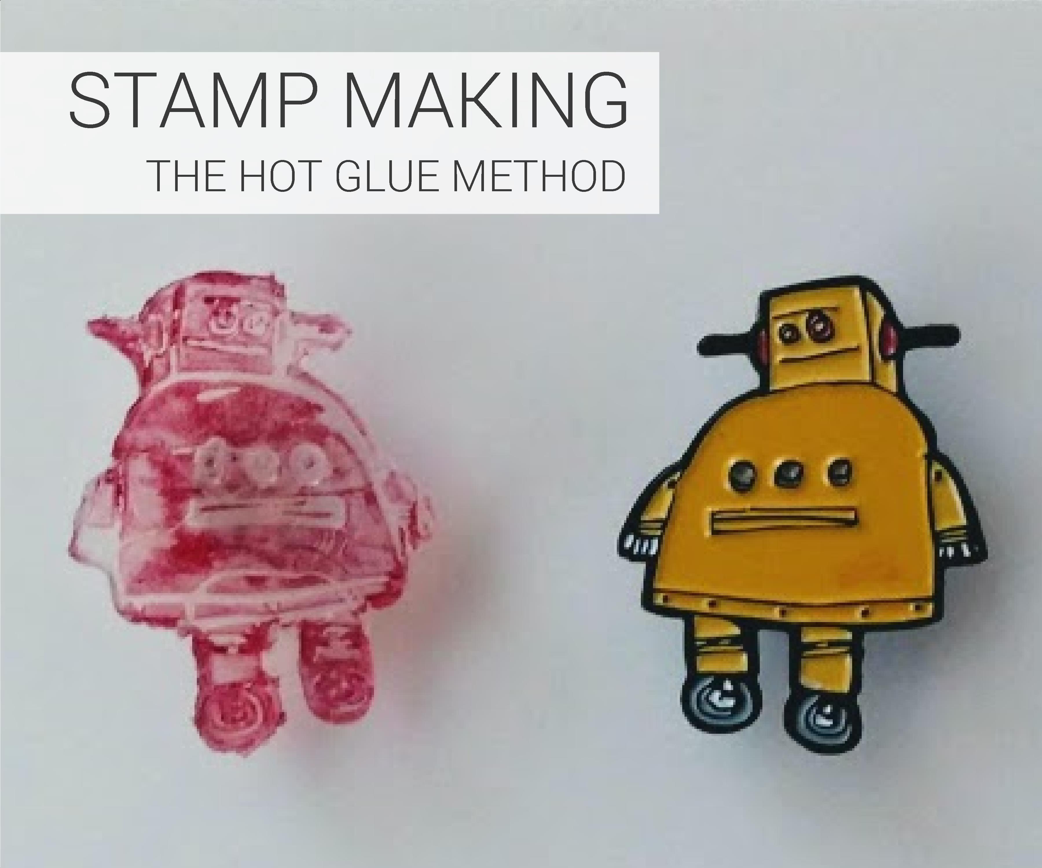 Hot Glue Stamp