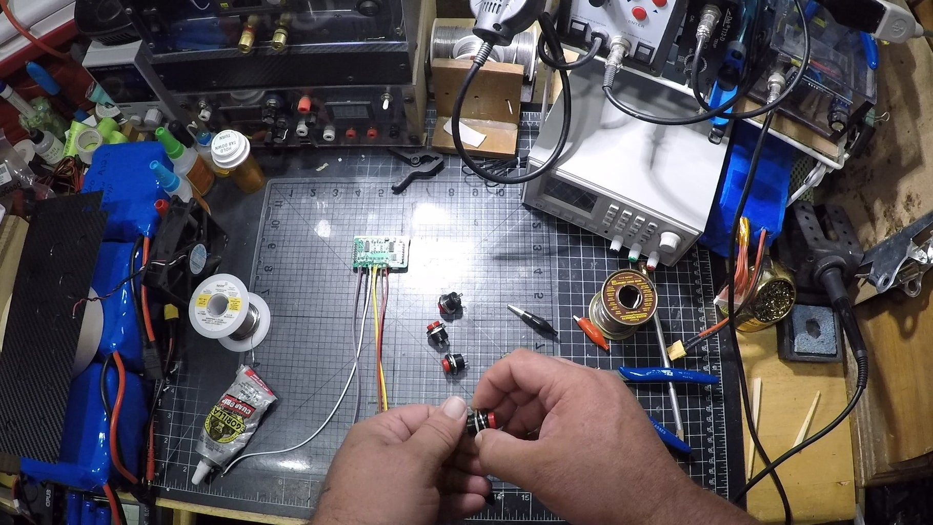 Solder & Add Components to Face