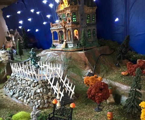 Small Halloween Village